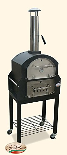 Forno Buono� - Amalfi Pro- Pizza Oven Wood-Fired Patio Garden Outdoor Bread Oven