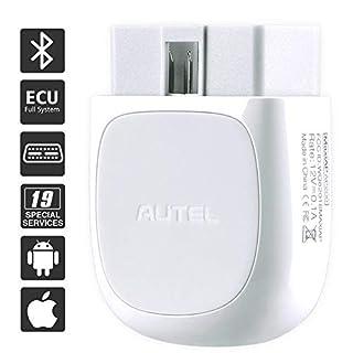 Autel MaxiAP AP200 obd2 bluetooth adapter mit Allen Systemdiagnosen, 19 Sonderfunktionen, OBD2 bluetooth Diagnosegerät mit obd Funktion.geeignet für Handy mit IOS und Android