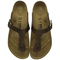 Birkenstock Gizeh, Women's Fashion Sandals, Brown (Graceful Toffee), 40 EU