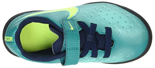 Nike 844452-375, Chaussures de Football Mixte Enfant Turquoise (Rio Teal/volt-obsidian-clear Jade)