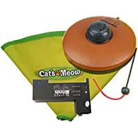 Cat's Meow Undercover Moving Mouse Cat Play Toy UPGRADED Model W/Lights