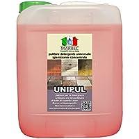 Marbec - UNIPUL 5LT   Detergente universale concentrato per pavimenti e rivestimenti