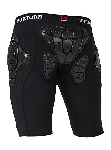 Burton Herren Total Impact Shorts Protektor True Black