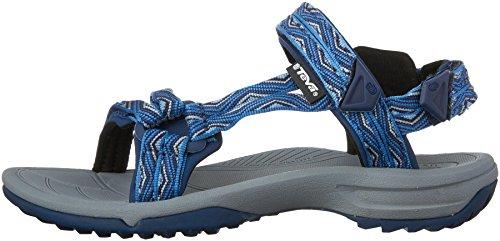 Teva Terra Fi Lite W's Damen Sport- & Outdoor Sandalen, Blau, 12 US Women Blau (814 trueno blue)