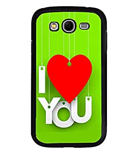 PrintVisa Wind Chime Heart High Glossy Designer Back Case Cover for Samsung Galaxy Grand 2 :: Samsung Galaxy Grand 2 G7105 :: Samsung Galaxy Grand 2 G7102