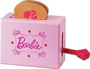 Faro - Leba14 - Jeu D'Imitation - Cuisine - Grille Pain En Bois Barbie Pour Enfant - 18,5 X 7,5 X 15 Cm