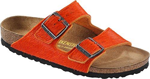 Birkenstock Classic Arizona Unisex - Erwachsene Pantoletten Orange