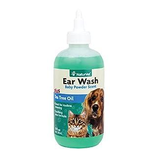 NaturVet Ear Wash with Tea Tree Oil, 240 ml NaturVet Ear Wash with Tea Tree Oil, 240 ml 41cXa1jqH5L