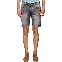 IZOD Mens 5 Pocket Stone Wash Shorts