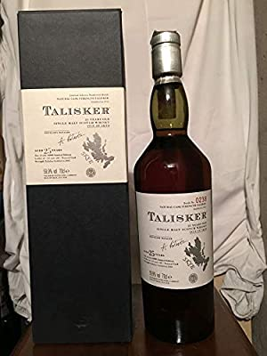 Talisker 25yo Limited Edition Numbered Bottle with case 70cl