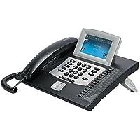 """Auerswald COMfortel 2600 IP - Teléfono IP (Negro, Terminal con conexión por Cable, Digital, 100 Mbit/s, De plástico, 10,9 cm (4.3""""))"""