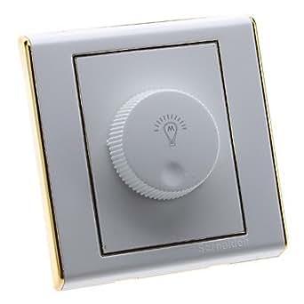ZCLAmpoules LED forte Edge Control Or Gradateur rotatif (220V)
