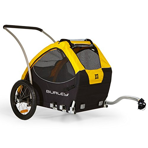 Burley Fahrradanhänger Tail Wagon - Trailercycle for Dog, multicolour, 92.7 x 78.7 x 81.3 cm, 947103