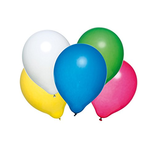 Susy Card 40011585 - Luftballons, 50 Stück, Latex, farbig Sortiert (Luftballons Amazon Prime)