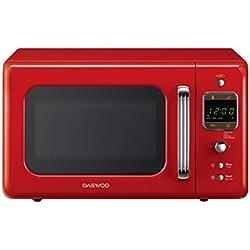 Daewoo KOR 6LBC Four à micro-ondes numérique, rouge