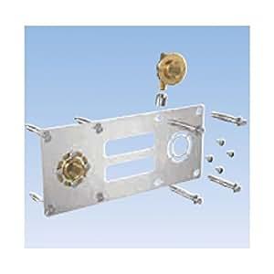 plaque de fixation pour raccord à sertir entraxe 150 pour tube per robifix diamètre : 16 réf. 008825