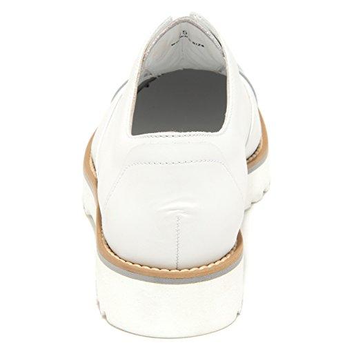 6407N sneaker HOGAN ROUTE scarpe donna slippers shoes women Bianco/Argento