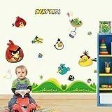 Autocollant Mural Angry Birds Repositionnable Art Décor V2 3ème génération