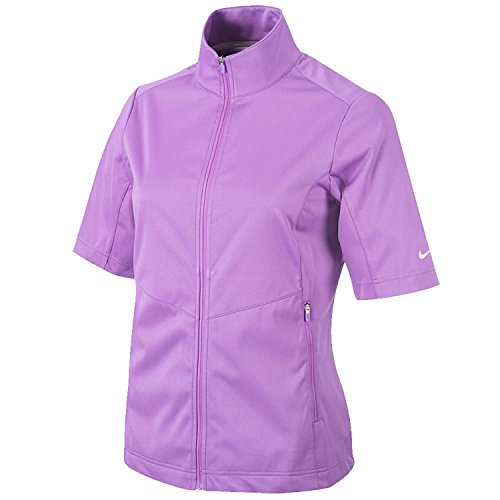 2016 Nike Womens Windshirt Golf Jacket Hyper Grape Small NEW (Windshirt Nike Golf)