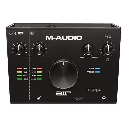 Imagen de Tarjeta de Sonido Externa M-audio por menos de 150 euros.