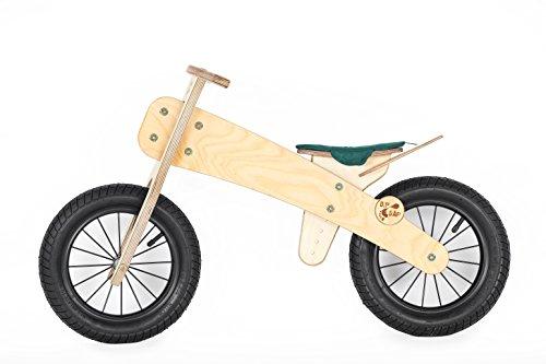 DipDap Luxus Holz Kinder Fahrrad Kinderfahrrad Laufrad Balance-Bike Gr&uumln 400093