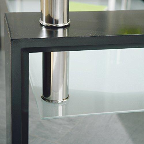 links 50100045 couchtisch glas wohnzimmertisch wohnzimmer. Black Bedroom Furniture Sets. Home Design Ideas