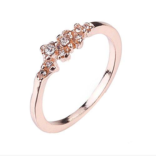 nge Set für Kleider Dekoration Hochzeit Jahrestag Schmuck Zubehör Geschenk günstig 10# rose gold ()