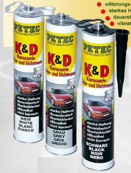 Kd Tür (PETEC K & D Grau 310ml 94630)