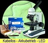 Digital Mikroskop 40x - 1000x Schule Uni Labor Biologie Profiqualität MFL-05 MK1