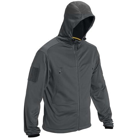 5.11 Men's Reactor Full Zip Hoodie, Charcoal, XX-Large