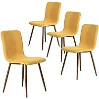 Suchergebnis Auf Amazonde Für Gelb Esszimmerstühle Esszimmer