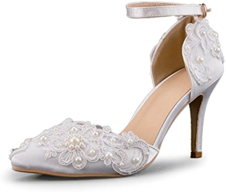 minitoo minitoo minitoo les chaussures de mariage nuptiale des applications d'ivoire 7,5 b07cq125cw satin paren t e4a380