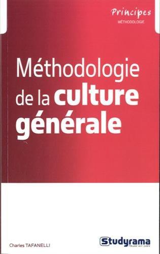 Méthodologie de culture générale