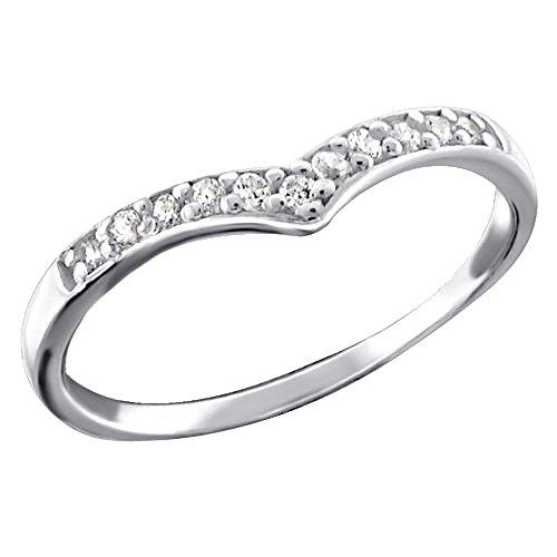 So Chic Joyas - Anillo Falange Corazón anillo Plata