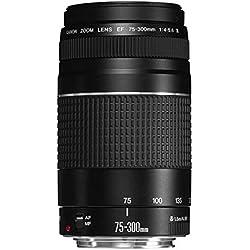 Canon 6473A003 Objectif pour Reflex EF 75-300mm f / 4.0-5.6 III, noir