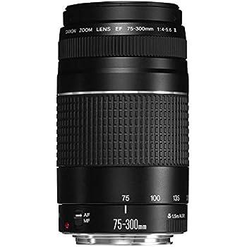 Canon EF 75-300mm f/4-5.6 III Objetivo para Canon (zoom óptico 4x ...