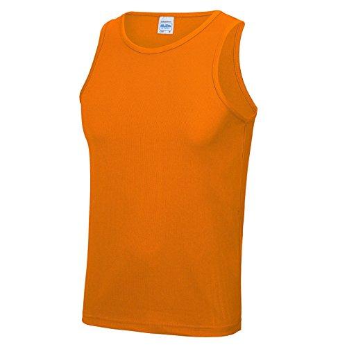AWDis -  T-shirt - Uomo Orange Crush
