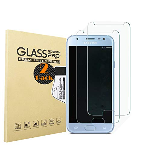 RUIST Samsung J2 Pro 2018 Schutzfolien,Panzerglas Samsung J2 Pro 2018,[2 Stück] Schutzglas Panzerschutz Folie Glas 9H [2.5D] Panzerfolie Glasfolie Bildschirmschutz für Samsung Galaxy J2 Pro 2018