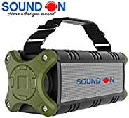 'SOUND ON' R101 40W HD Extra BASS Portable Bluetooth Speaker |8 hours Playback time |TWS |Power Bank Function