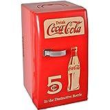 Coca-Cola Coke 36-1C-001 Réfrigérateur nomade Rétro Coca-Cola Rouge 12 litres 18 canettes Poignée de transport Clayettes amovibles H48,8 x 27 x 34,2 cm