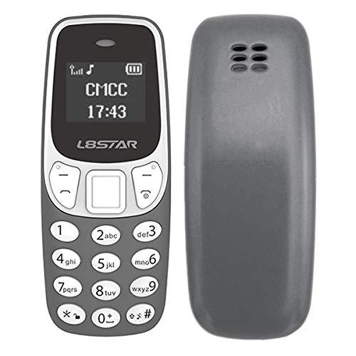 GTStar BM10 Mini Bluetooth Cell Phone 2G MP3 Dual SIM 24MB+32MB 0,66inch  grey