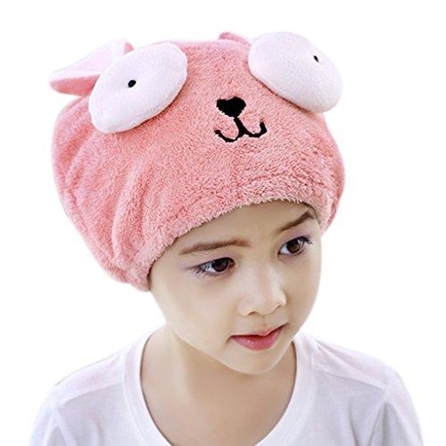 Kinder Haartrockentuch, Handtuch,Kopftuch, Mikrofaser Absorbent Handtuch Turban Schnell Trocken Kopfhandtuch Kopftuch Haarturban