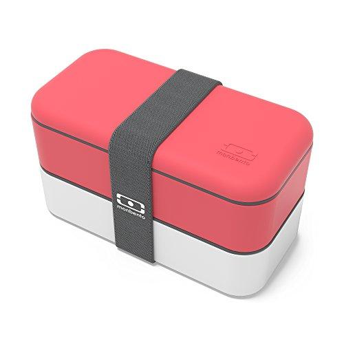 Monbento MB Original Corail - The bento box, Lunchbox mit 2 Behältern