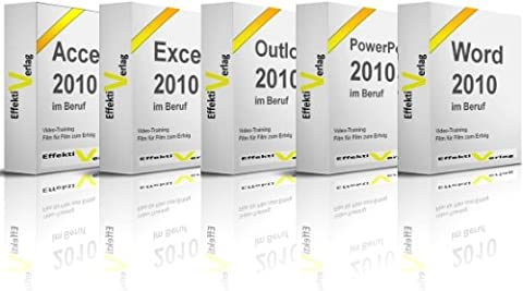 Microsoft Office 2010 im Beruf, Video-Training, mit Access, Excel, Outlook, PowerPoint und Word in Full-HD auf DVD [HD (Office 2013 University)