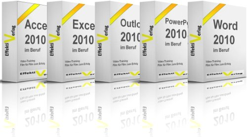 Microsoft Office 2010 im Beruf, Video-Training speziell für Berufstätige, mit Access, Excel, Outlook, PowerPoint und Word Schulung in der Premium-Box (Key Outlook 2010)