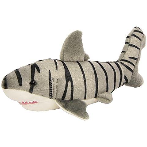 Wild Republic - Peluche Cuddlekins Mini Tiburón Tigre, 20 cm (10884)