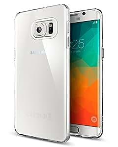 Spigen SGP11714 Liquid Crystal Custodia per Samsung Galaxy S6 Edge+, Trasparente