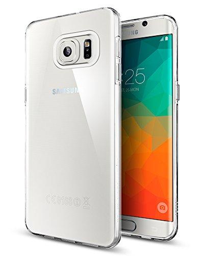 Spigen SGP11699 - Funda para Samsung Galaxy S6 Edge+, Claro