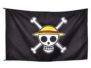 CoolChange bandiera di Jolly Rogers della ciurma del Cappello di Paglia One Piece