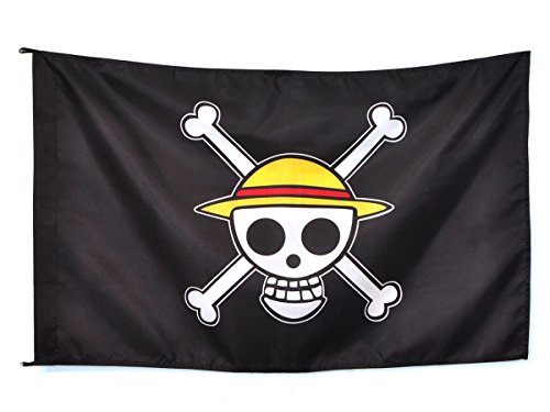 CoolChange One Piece Jolly Roggers Strohhut Flagge (95 * 75cm)